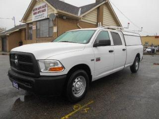 Used 2012 RAM 2500 ST 2500 Crew Cab 8Ft Box 5.7L HEMI ONLY 29,000Km for sale in Etobicoke, ON