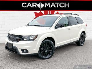 Used 2016 Dodge Journey SXT / 7 SEATER / DVD / NAV / NO ACCIDENTS for sale in Cambridge, ON