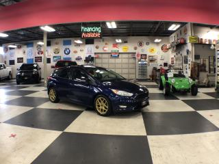 Used 2016 Ford Focus HATCHBACK SE AUT0 LEATHER SUNROOF CAMERA H/SEATS for sale in North York, ON