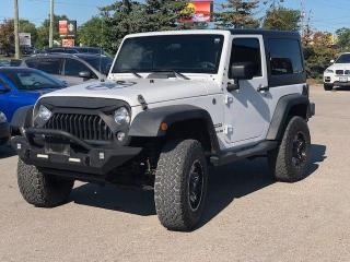 Used 2016 Jeep Wrangler SPORT for sale in Bolton, ON
