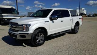 Used 2019 Ford F-150 Lariat SuperCrew 5.5' Box for sale in Elie, MB