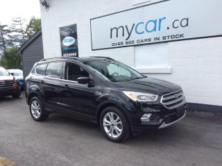 Used 2017 Ford Escape ALLOYS. A/C. BACKUP CAM. HEATED SEATS. POWERGROUP. for sale in North Bay, ON
