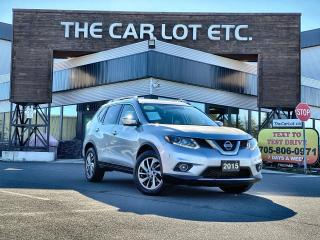 Used 2015 Nissan Rogue SL AWD!! SUNROOF!! NAVIGATION!! LEATHER!! BACK-UP CAMERA!! HEATED SEATS!! for sale in Sudbury, ON