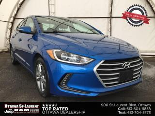 Used 2018 Hyundai Elantra GLS 4 NEW TIRES, NEW FRONT BRAKES, SUNROOF, BLIND SPOT DETECTION for sale in Ottawa, ON