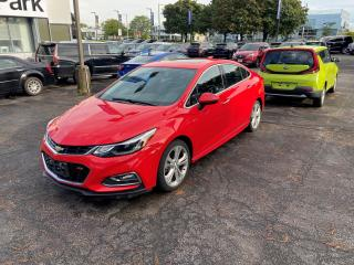 Used 2017 Chevrolet Cruze Premier Auto ONE OWNER, NAVIGATION, SUNROOF, BOSE SPEAKERS, RS PACKAGE for sale in Mississauga, ON