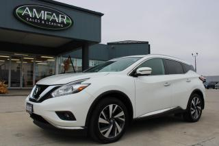 Used 2017 Nissan Murano Platinum for sale in Tilbury, ON