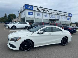 Used 2017 Mercedes-Benz CLA-Class 250 SUNROOF | HEATED SEATS | LEATHER SEATS | MEMORY SEAT | for sale in Brampton, ON
