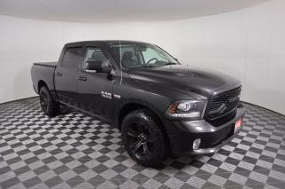 Used 2018 RAM 1500 Sport 1 OWNER - NO ACCIDENTS | 4X4 | 5.7L V8 | COOLED VENTILATED LEATHER | SPRAY-IN LINER | TONNEAU COVER for sale in Huntsville, ON