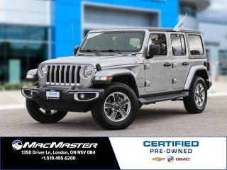 Used 2018 Jeep Wrangler Unlimited Sahara for sale in London, ON