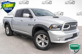 Used 2018 RAM 1500 Sport REMOTE START!!! HEATED SEATS & STEERING WHEEL!!! ALPINE SOUND SYSTEM!!! for sale in Barrie, ON