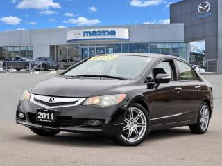 Used 2011 Acura CSX i-Tech TECH PKG - LEATHER, NAVI, MOONROOF, ALLOY WHEELS for sale in Hamilton, ON