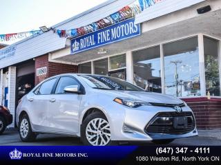 Used 2017 Toyota Corolla 4dr Sdn CVT LE for sale in Toronto, ON