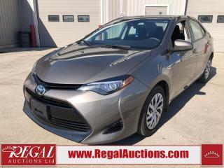 Used 2017 Toyota Corolla LE 4D Sedan 1.8L for sale in Calgary, AB