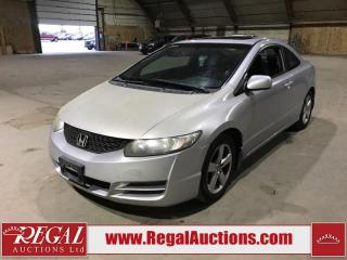 Used 2009 Honda Civic LX 2D Coupe FWD for sale in Calgary, AB