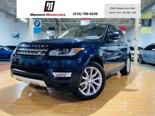 Used 2016 Land Rover Range Rover Sport Td6 HSE - 7 Passenger Diesel |NAVI |PANO |CAM for sale in North York, ON