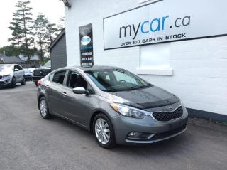 Used 2016 Kia Forte 1.8L LX+ SUNROOF, HEATED SEATS, ALLOYS, POWERGROUP.ALLOY!! for sale in North Bay, ON