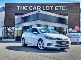 Used 2017 Chevrolet Cruze Premier Auto LEATHER!!! HEATED SEATS!! HEATED STEERING WHEEL!!! BACK-UP CAMERA!! for sale in Sudbury, ON