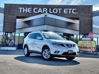 Used 2015 Nissan Rogue SV AWD!! SUNROOF!! BACK-UP CAM!! HEATED SEATS!! for sale in Sudbury, ON
