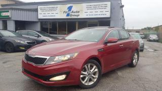 Used 2011 Kia Optima EX Luxury4dr Sdn Pano-Roof/Backup Cam for sale in Etobicoke, ON