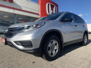 Used 2016 Honda CR-V LX for sale in Simcoe, ON