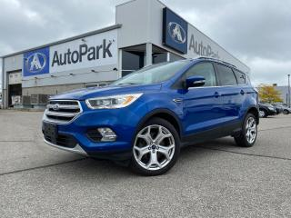 Used 2017 Ford Escape Titanium | REMOTE START | ADAPTIVE CRUISE CONTROL | PANORAMIC MOONROOF | BLIND-SPOT DETECTION | for sale in Innisfil, ON