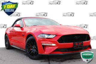 Used 2018 Ford Mustang GT Premium GT  CONVERTIBLE NAVIGATION LEATHER!! for sale in Hamilton, ON