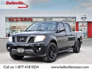 Used 2019 Nissan Frontier Midnight Edition 1 OWNER CLEAN CARFAX HEATED SEATS for sale in Belleville, ON