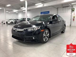 Used 2017 Honda Civic EX-T - CAMERA + TOIT + FINANCEMENT FACILE !!! for sale in Saint-Eustache, QC