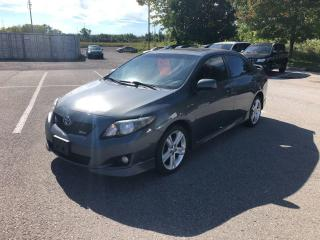 Used 2010 Toyota Corolla XRS for sale in Whitby, ON