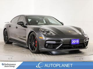 Used 2019 Porsche Panamera AWD, Turbo, Sport Chrono/Premium Pkg, Navi! for sale in Brampton, ON