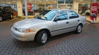 Used 2000 Toyota Corolla CLEAN / WELL MAINTAINED / GREAT PRICE ! for sale in Vancouver, BC