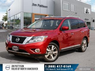 Used 2015 Nissan Pathfinder Platinum - LOCAL - NO ACCIDENTS for sale in North Vancouver, BC