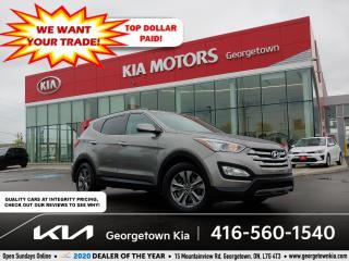 Used 2016 Hyundai Santa Fe Sport PREMIUM   NAV   HTD SEATS   BU CAM   BLUETOOTH for sale in Georgetown, ON