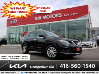 Used 2016 Nissan Rogue S AWD | B/UP CAM | BLUETOOTH | PWR GROUP | for sale in Georgetown, ON