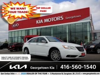 Used 2013 Chrysler 200 LIMITED | LTHR | POWER SUNROOF | HTD SEATS | B/T for sale in Georgetown, ON