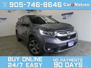 Used 2017 Honda CR-V EX-L | LEATHER | AWD | SUNROOF | TOUCHSCREEN for sale in Brantford, ON