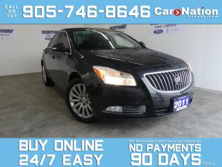 Used 2011 Buick Regal CXL | LEATHER | SUNROOF | BLUETOOTH | OPEN SUNDAYS for sale in Brantford, ON