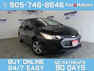 Used 2016 Chevrolet Cruze LS | FULLY REDESIGNED | TOUCHSCREEN | REAR CAM for sale in Brantford, ON