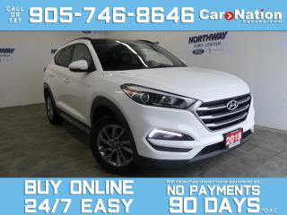 Used 2018 Hyundai Tucson SE | LEATHER | PANO ROOF | TOUCHSCREEN for sale in Brantford, ON