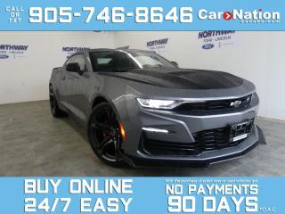 Used 2021 Chevrolet Camaro SS | TRACK PACK | CARBON FIBER PKG | RECARO SEATS for sale in Brantford, ON