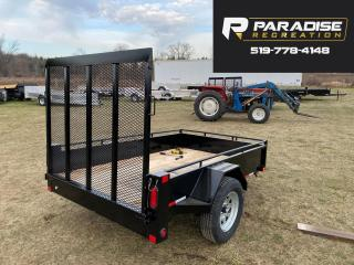 Used 2022 TRIUMPH TRAILERS SA5x8-35 PAINTED STEEL UTILITY for sale in Kitchener, ON