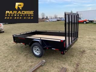 Used 2021 Triumph SA6X10-35 STEEL PAINTED UTILITY for sale in Kitchener, ON
