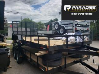 Used 2021 Triumph TA82X16-35 OPEN SIDE PAINTED UTILITY for sale in Kitchener, ON