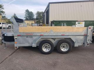 Used 2022 Triumph TA6X12-52 GALVANIZED PREMIUM DUMP 5TON DOUBLE WALLED for sale in Kitchener, ON