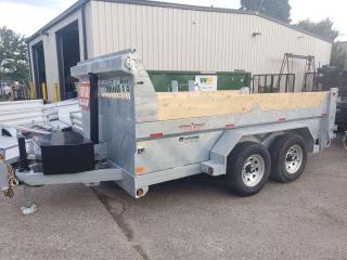Used 2022 Triumph TA6X12-52 GALVANIZED PREMIUM DUMP 5 TON DOUBLE WALLED for sale in Kitchener, ON
