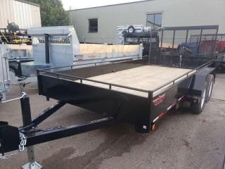 Used 2021 Triumph TA80X14-35 PAINTED STEEL UTILITY for sale in Kitchener, ON