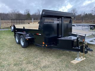 Used 2022 TRIUMPH TRAILERS TA6X12-52 PAINTED STEEL PREMIUM DUMP 5 TON for sale in Kitchener, ON
