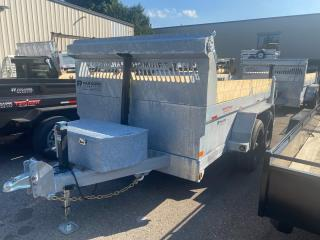 Used 2022 TRIUMPH TRAILERS TA6X12-70 GALVANIZED DUMP DOUBLE WALL 7 TON for sale in Kitchener, ON