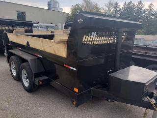 Used 2022 TRIUMPH TRAILERS TA6X12-52 PAINTED STEEL HIGH-END DUMP 5 TON for sale in Kitchener, ON