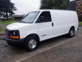 Used 2004 GMC Savana G2500 Cargo van for sale in Burnaby, BC